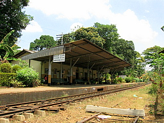 University of Peradeniya's train station